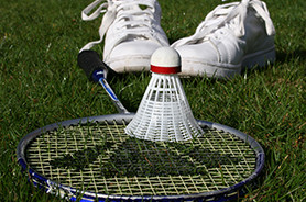 Titelbild Sportart Badminton