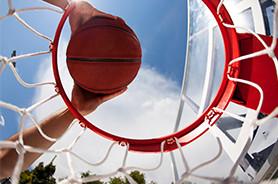 Titelbild Sportart Basektball