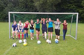 Titelbild Sportart Frauenfußball