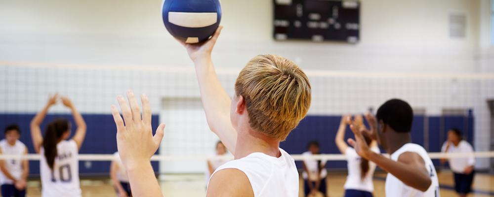 Volleyball-Training im CSV-Stuttgart